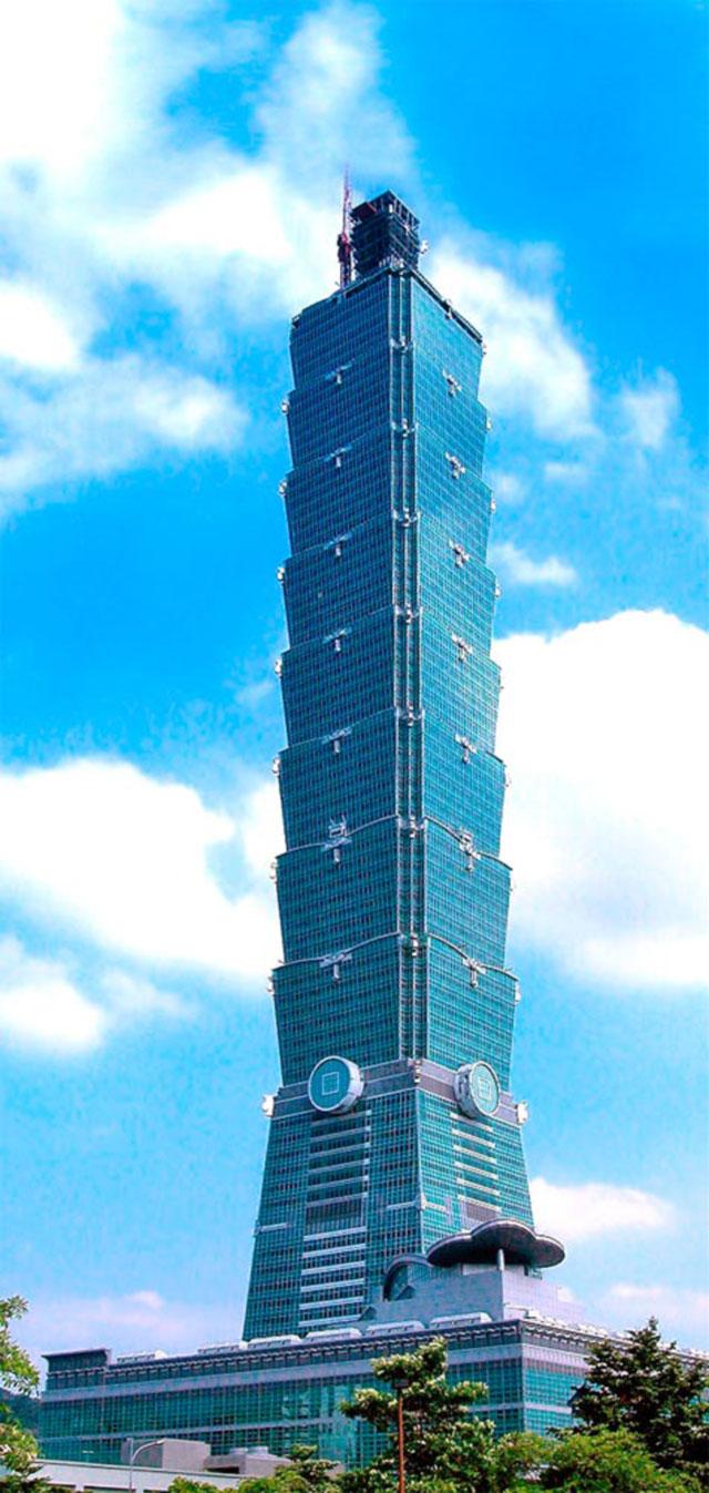 Wolkenkratzer Taipei 101
