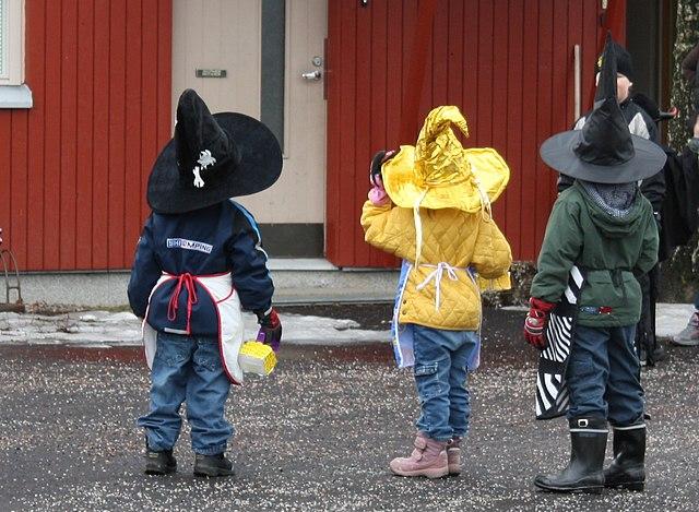 Osterhexen in Finnland