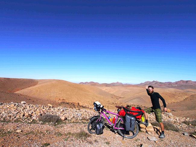 Überquerung des Hohen Atlas in Marokko